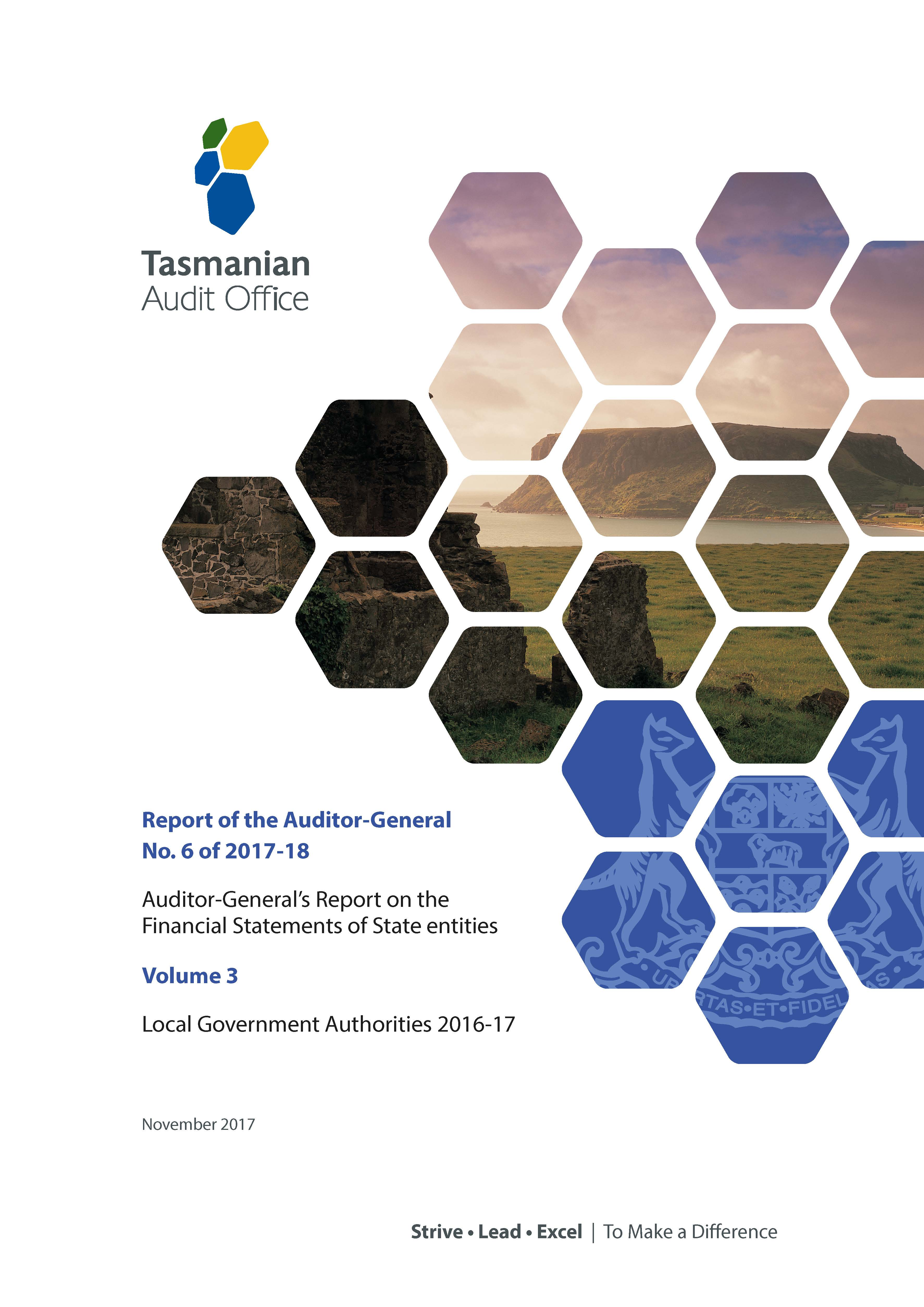 local government authorities 2016 17 tasmanian audit office
